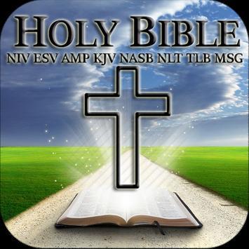 Bible Study NIV KJV AMP NASB apk screenshot