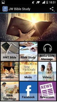 JW Bible Study poster