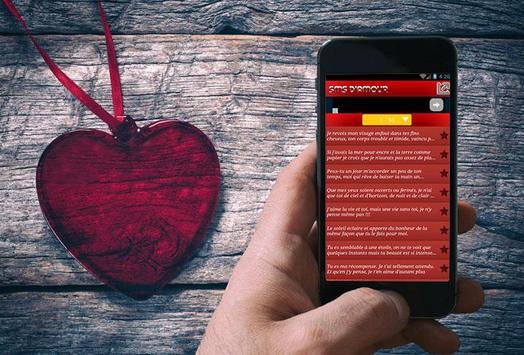 Lettres et sms d'amour apk screenshot