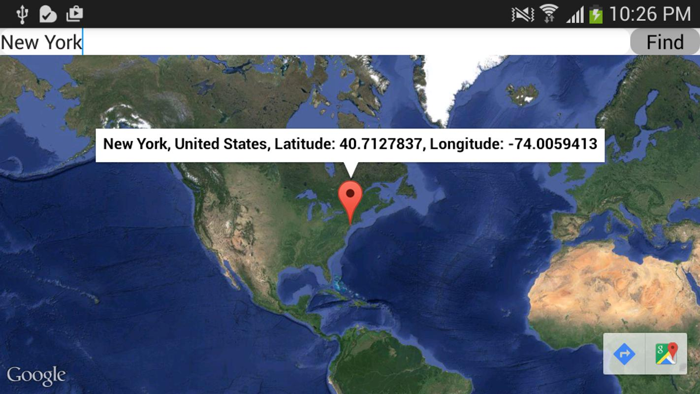 Latitude And Longitude Software Free Download For Android