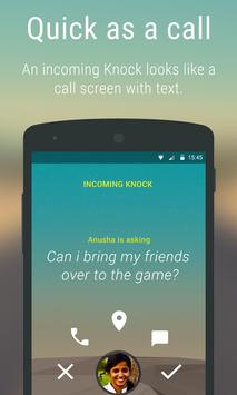 Knock for Android apk screenshot