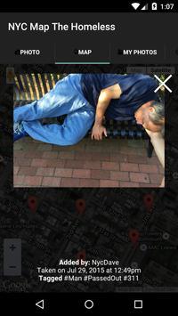 NYC Map The Homeless apk screenshot