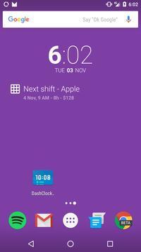 Shift Tracker apk screenshot