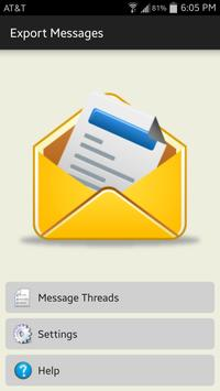 Export Messages poster