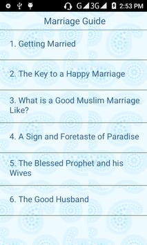 Marriage Guide apk screenshot