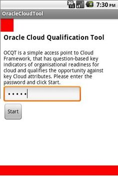 Oracle Cloud - OCQT poster