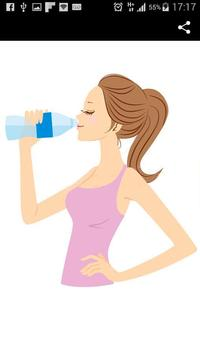 Lose Weight With Water poster