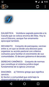 Diccionario Católico Glosario apk screenshot