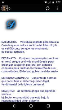 Diccionario Católico Glosario poster