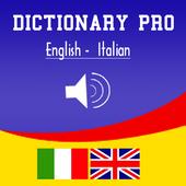 English Italian Dictionary Pro icon