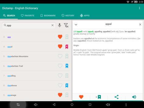 English dictionary - offline apk screenshot