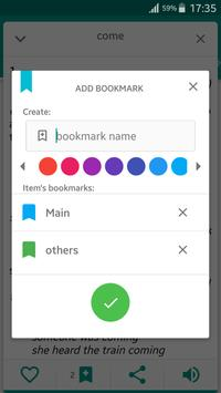 Dictamp Oxford dictionary apk screenshot