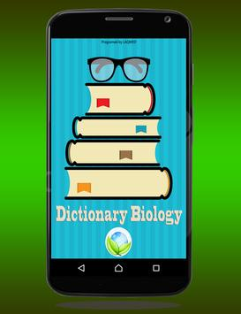Biology Dictionary Free poster