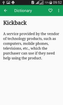 Commerce Dictionary Offline apk screenshot