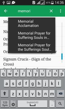 Catholic Prayers Offline apk screenshot