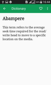 Electronics Dictionary Offline apk screenshot