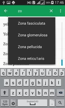 Human Anatomy Dictionary apk screenshot