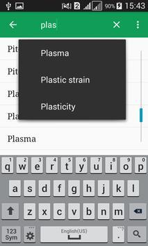 Physics Dictionary Offline apk screenshot
