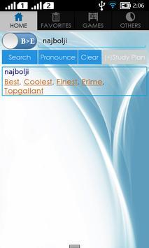 Bosnian Dictionary apk screenshot