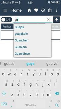 English German Dictionary apk screenshot