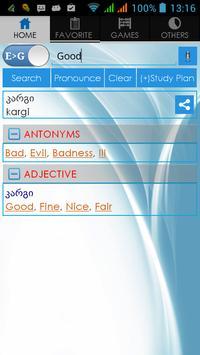 Georgian Dictionary poster