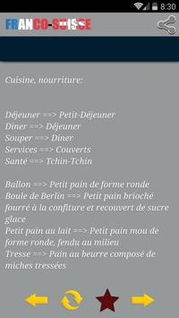 Dictionnaire Franco-Suisse apk screenshot