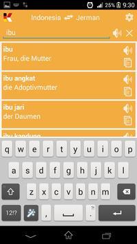 Kamus Saku Jerman apk screenshot