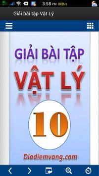 Giải bài tập Vật Lý THPT apk screenshot