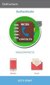 MCBS DialContacts apk screenshot