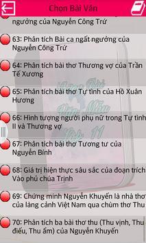 Những Bài Văn Mẫu Lớp 11 apk screenshot