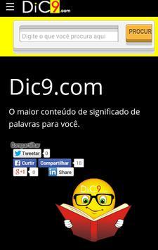 Dic9 - Significado de palavras poster