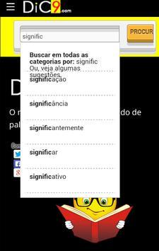Dic9 - Significado de palavras apk screenshot