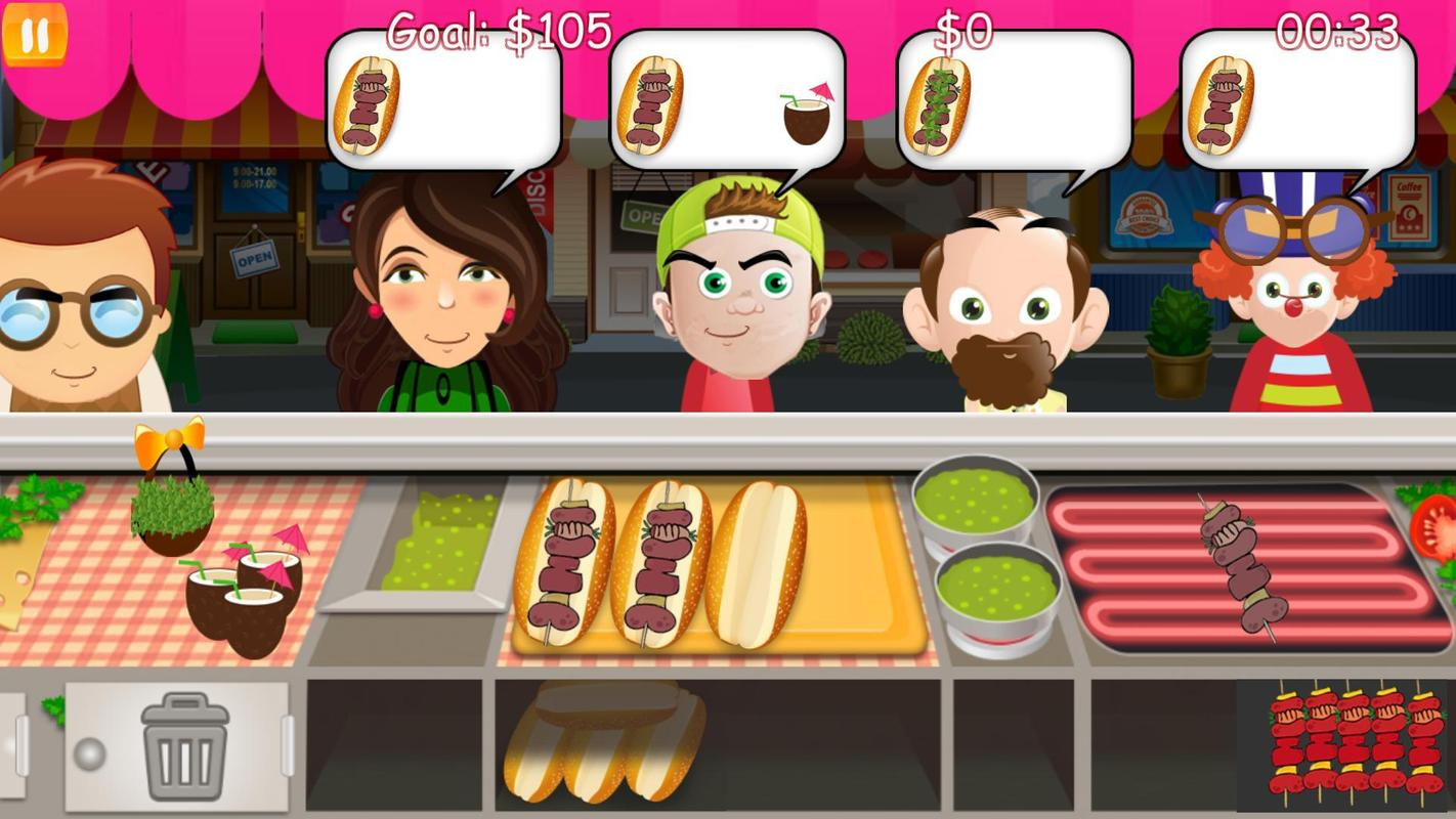 Burger Fever Cooking Game APK Download - Free Adventure GAME for ...