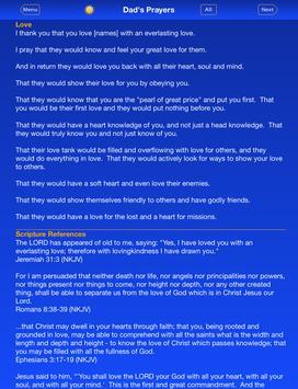Dad's Prayers apk screenshot