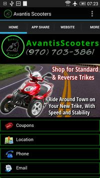 Avantis Scooters poster