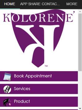 Kolorene' Salon Suite poster
