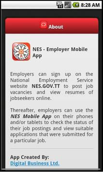 NES Employer apk screenshot