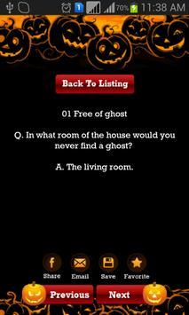 Funny Halloween Jokes, Riddles apk screenshot