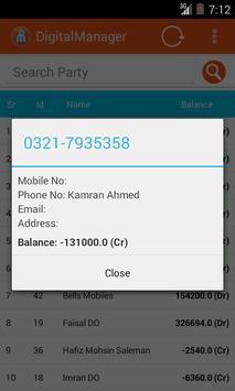 Digital Manager apk screenshot