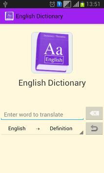 English Dictionary apk screenshot