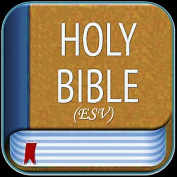 Holy Bible ESV poster