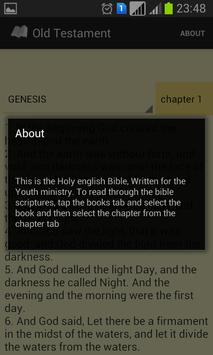 Youth Holy Bible apk screenshot