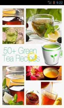 50+ Green Tea Recipes poster