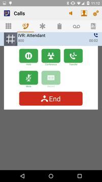 Switchvox Softphone apk screenshot