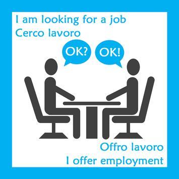 JOB Lavoro Offro & Cerco poster