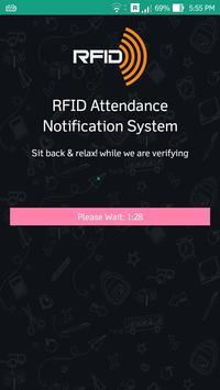 RFID Attendance Notification apk screenshot