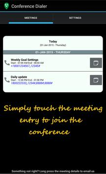 CDialer Conference Call Dialer poster