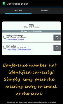 CDialer Conference Call Dialer apk screenshot