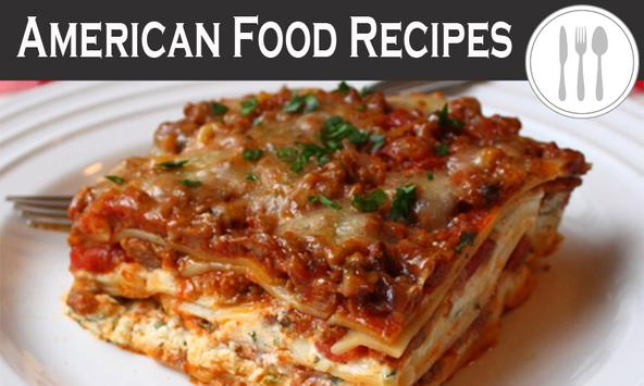 American Food Recipes poster