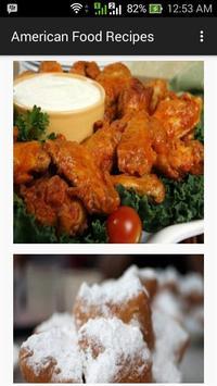 American Food Recipes apk screenshot